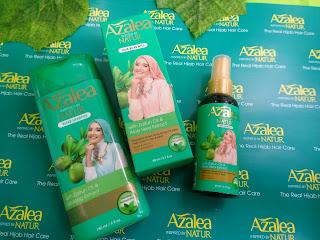 Azalea hair shampoo dan hair mist bebas rontok anti lepek