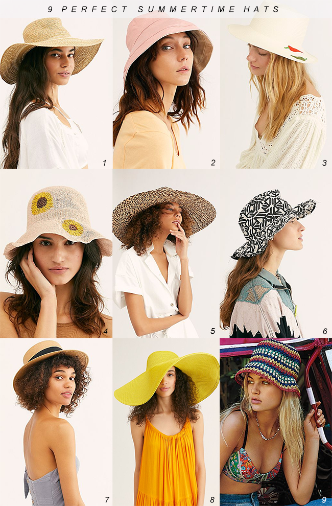 9 Stylish Hats Perfect for Summer