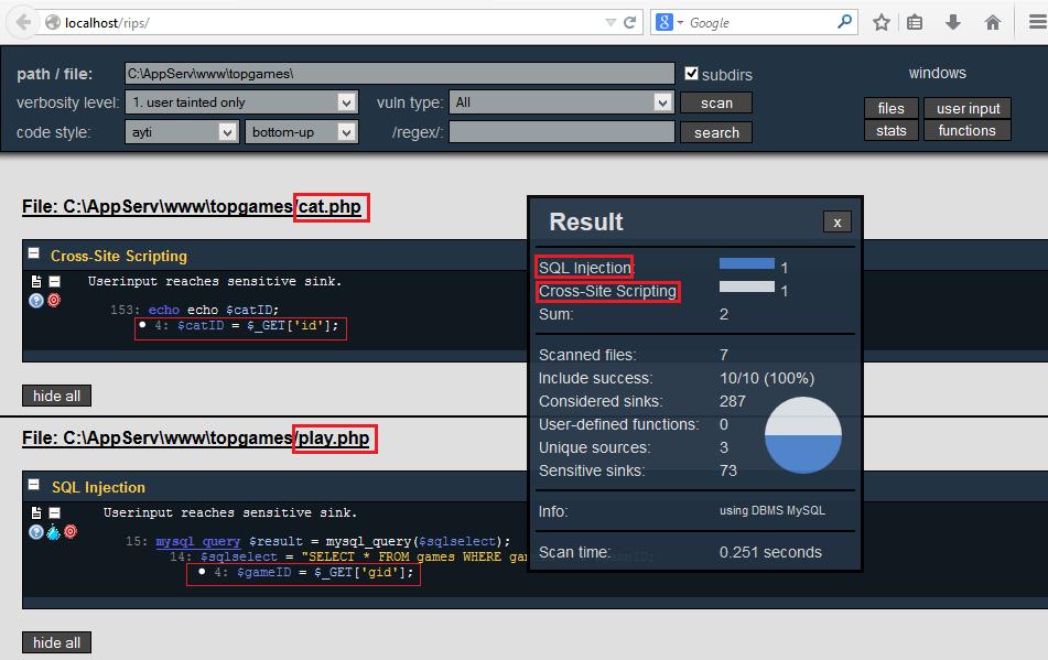 SQL Injection - PHP Scriptlerde SQLi Tespiti ve Exploit Etme 9