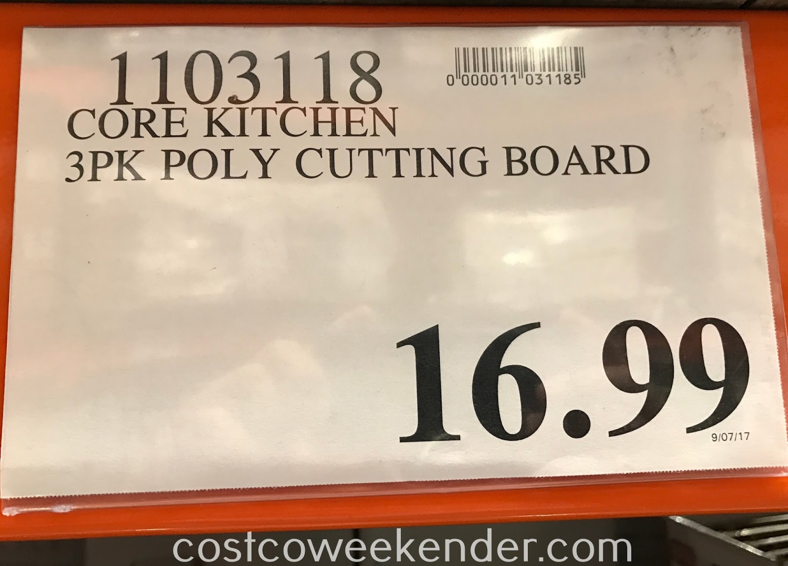 Deal for the Core Kitchen Nonslip Carving & Cutting Board Set (3 pack) at Costco