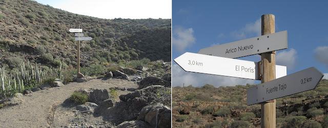 Mar a Cumbre - Barranco del Tajo - PR-TF-86 - Tenerife - Islas Canarias