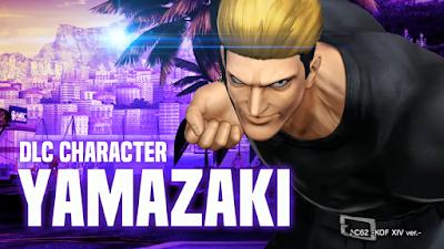 Ryuji Yamazaki arriva su King Of Fighters XIV
