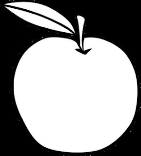 Catatanku Anak Desa Mewarnai Gambar Buah Apel