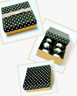 caixas poa preta
