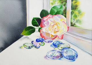 Watercolor Realistic painting