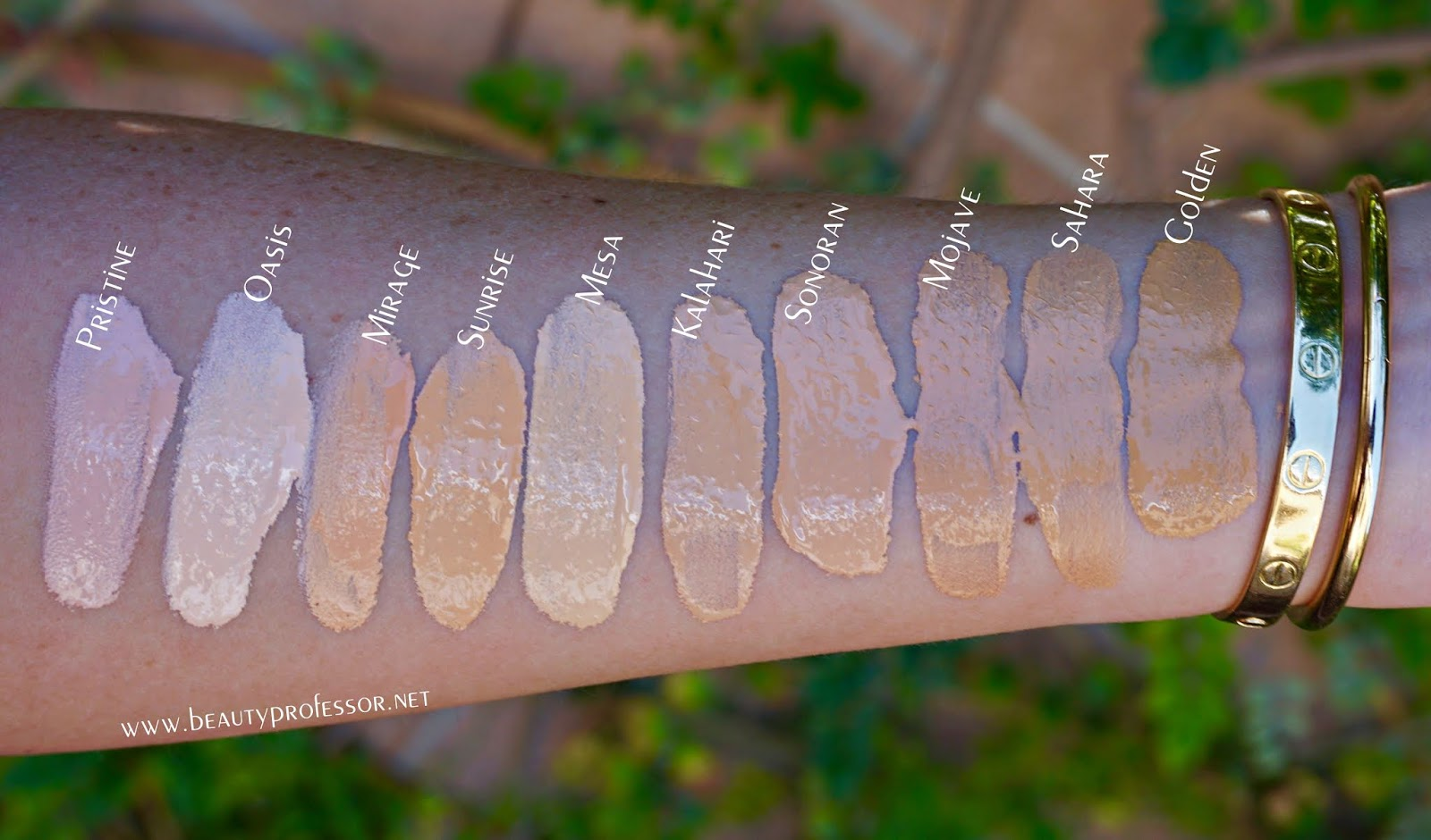 lawless woke up like this foundation swatches