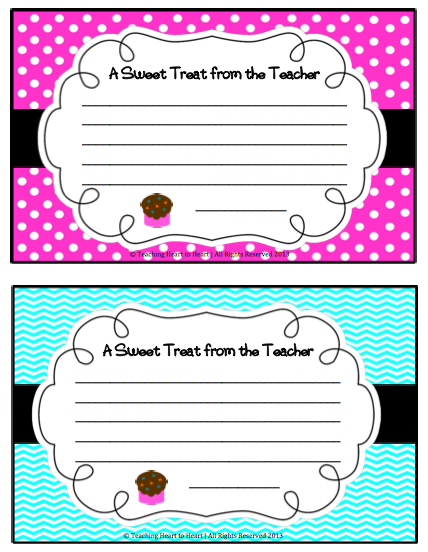 I Decided To Make A Template And Love The Way It Turned Out Already Sent Home Two Notes There S One That Can Be Used For Boys