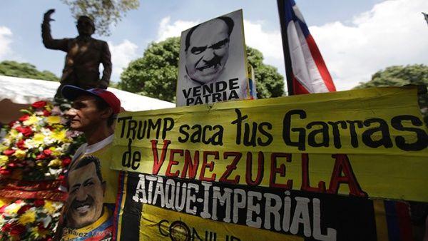 Pueblo venezolano marcha en defensa de la soberanía nacional