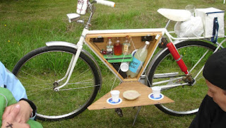 portable bike bar, insane bikes
