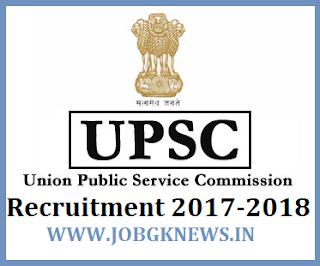 http://www.jobgknews.in/2017/11/upsc-recruitment-2017-2018.html