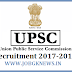 UPSC Recruitment 2017-2018 For 414 Vacancies for Combined Defence Services