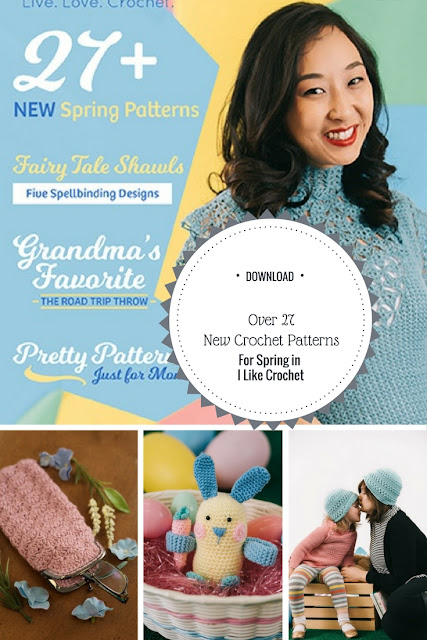 I Like Crochet Patterns for Spring