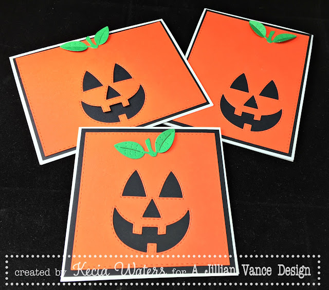AJVD, Kecia Waters, jack-o-lantern, Halloween, die-cutting