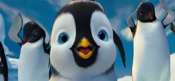 Screen Shot Of Hollywood Movie Happy Feet Two (2011) In Hindi English Full Movie Free Download And Watch Online at worldofree.co