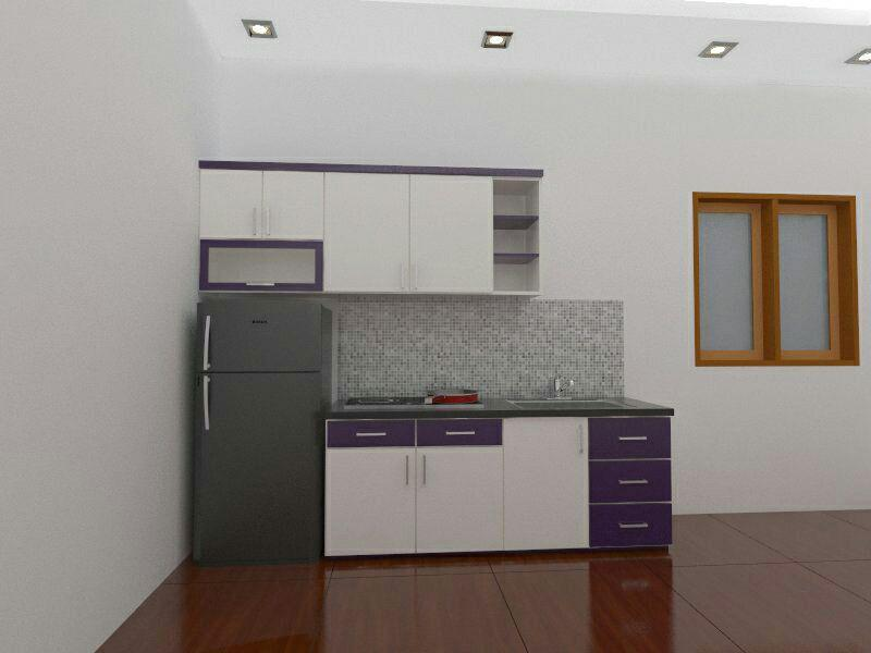 Harga Dan Desain Kitchen Set Minimalis Untuk Apartemen Makassar