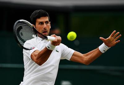 Tay vợt Novak Djokovic đăng quang wimbledon 2018