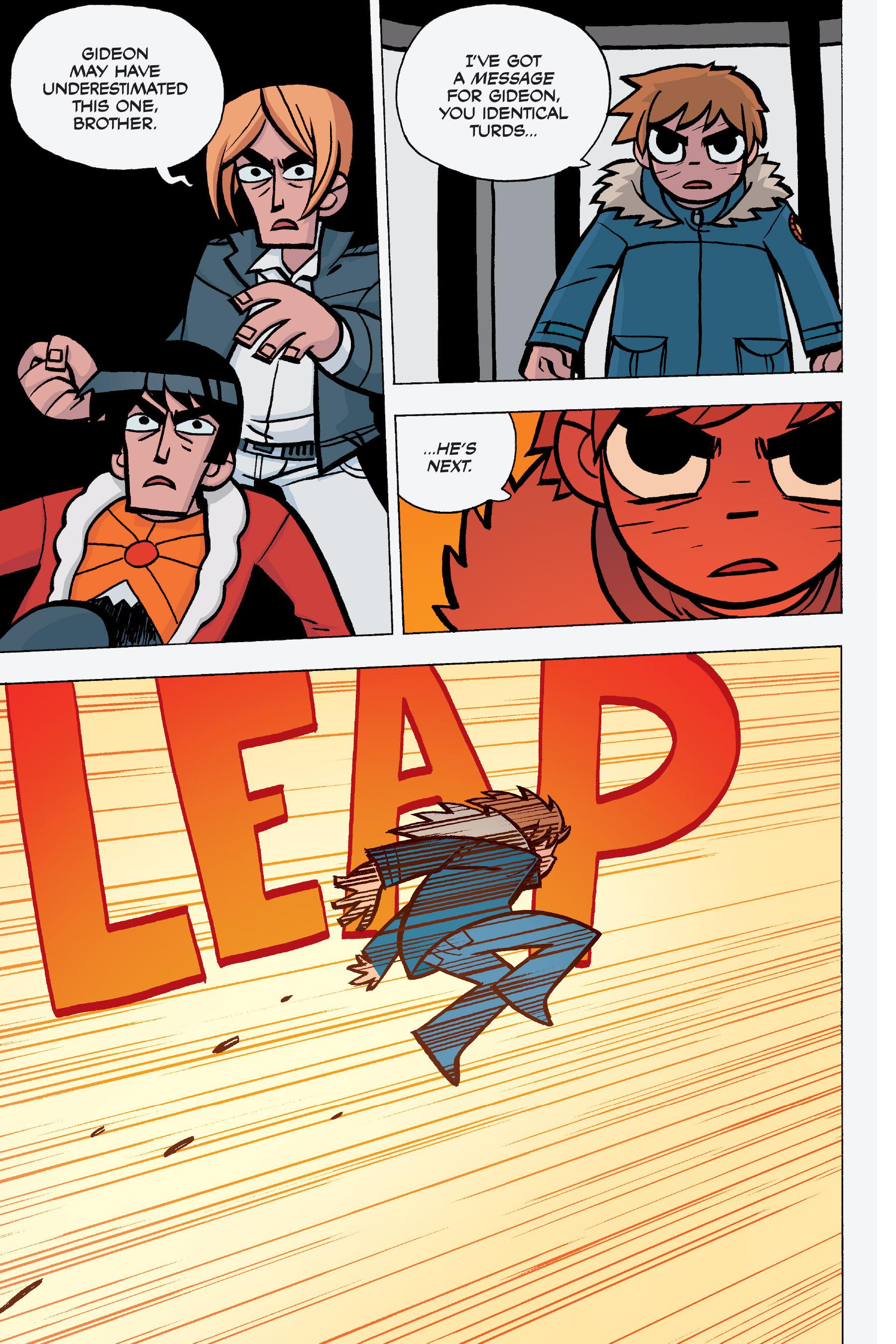 Read online Scott Pilgrim comic -  Issue #5 - 131