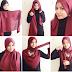 15 Cara Memakai Hijab Segi Empat Untuk Sehari-hari Praktis Mudah