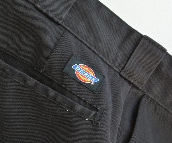 ヴィンテージアメリカ製Dickiesディッキーズ874ワークパンツ黒