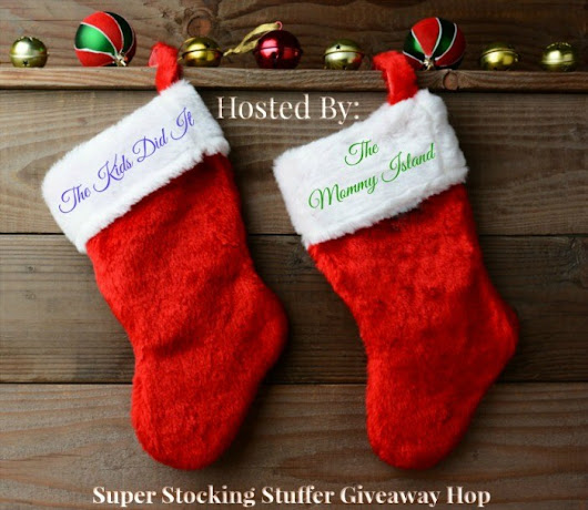 Win a $30 Amazon Gift Card In The Super Stocking Stuffer Giveaway Hop