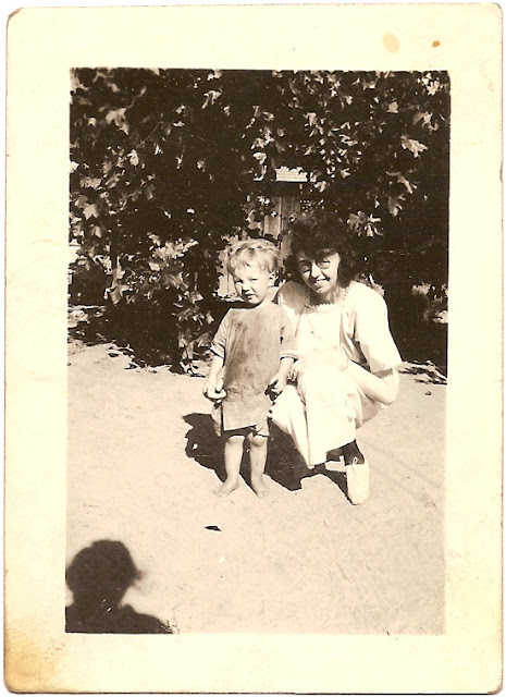 question if possible Maud Woodworth Bean and son Sammie circa late 1920s