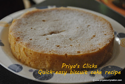 biscuit cake easy