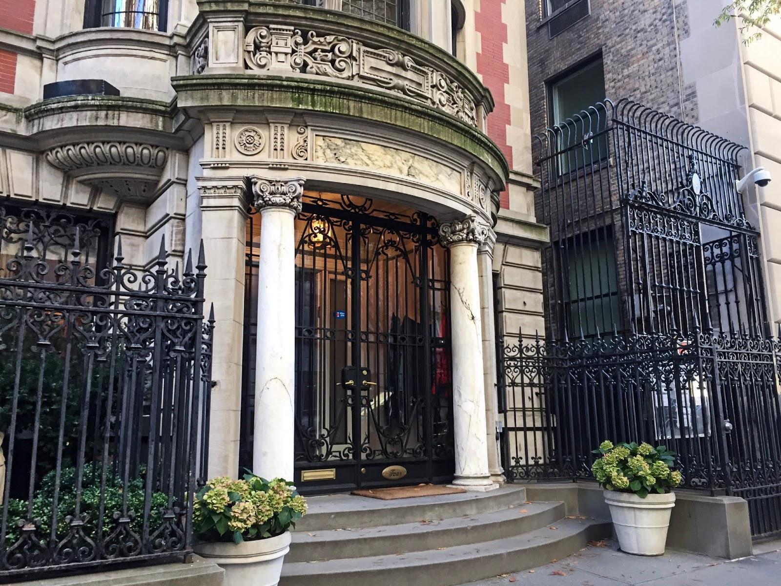 Nate Archibald Townhouse Upper East Side Gossip Girl