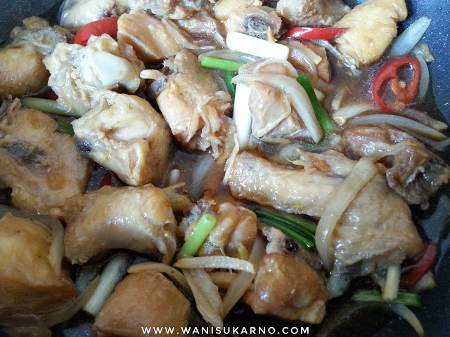 ayam masak halia mudah dan sedap
