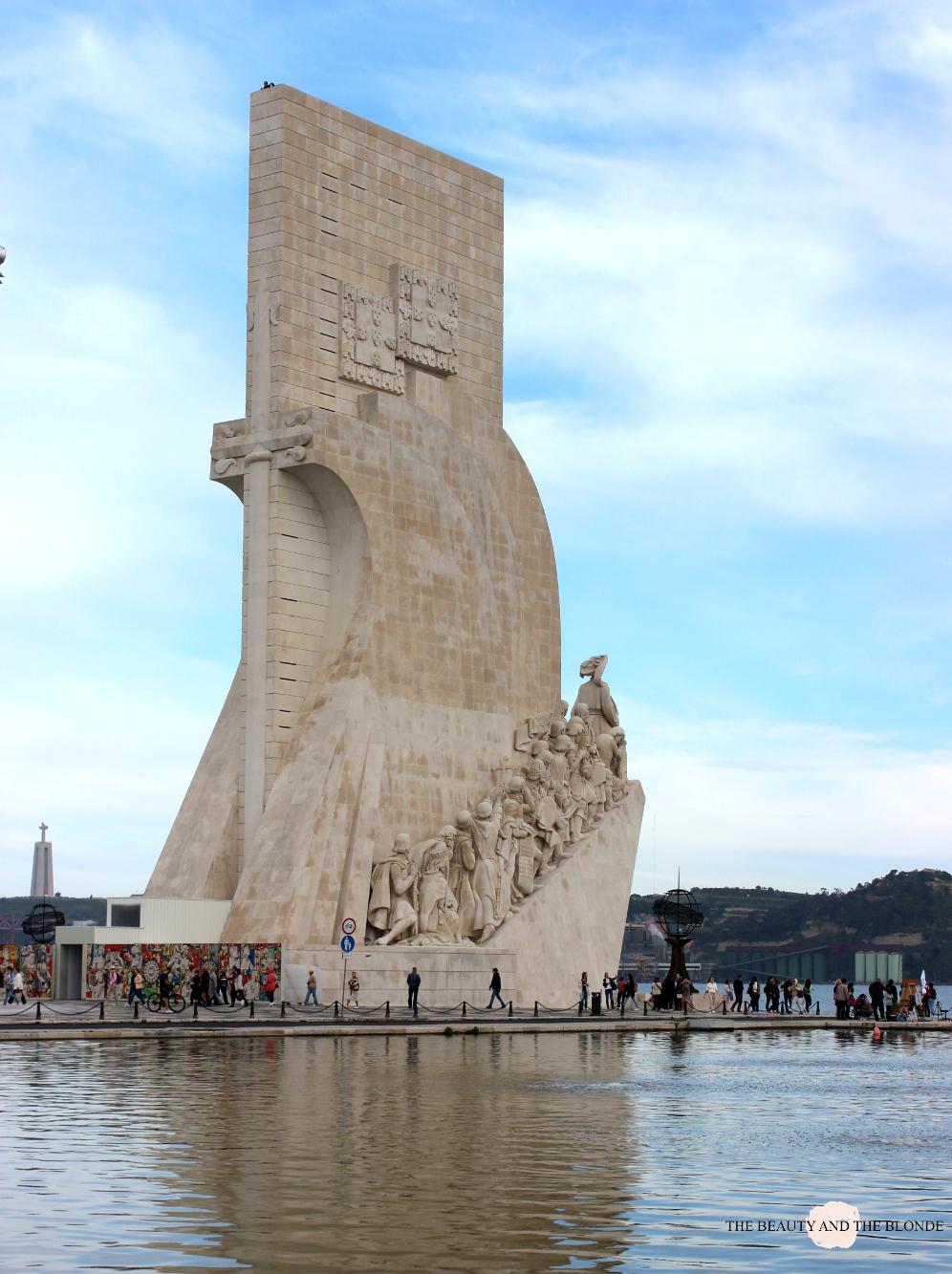 Lissabon Lisbon Lisboa Travel Diary Reise Bericht Tipps Padrao de Descobrimentos Seefahrer Denkmal