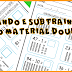MATEMÁTICA - ADIÇÃO E SUBTRAÇÃO COM O MATERIAL DOURADO - 1º ANO