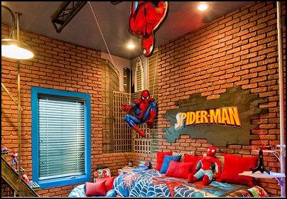 Spiderman Bedroom Decorating Ideas | Bedroom