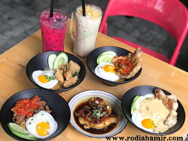 Menu di Indobowl Café Sungai Besi
