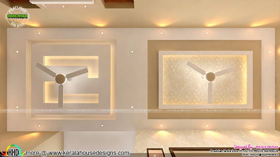 Ceiling design interior
