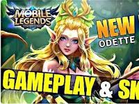 Mengenal Odette Hero Baru Mobile Legends, Bagaimana Skill Si Putri Angsa ?
