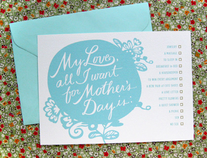 Tulip and Turnip: {Free Printable} Mother's Day Card