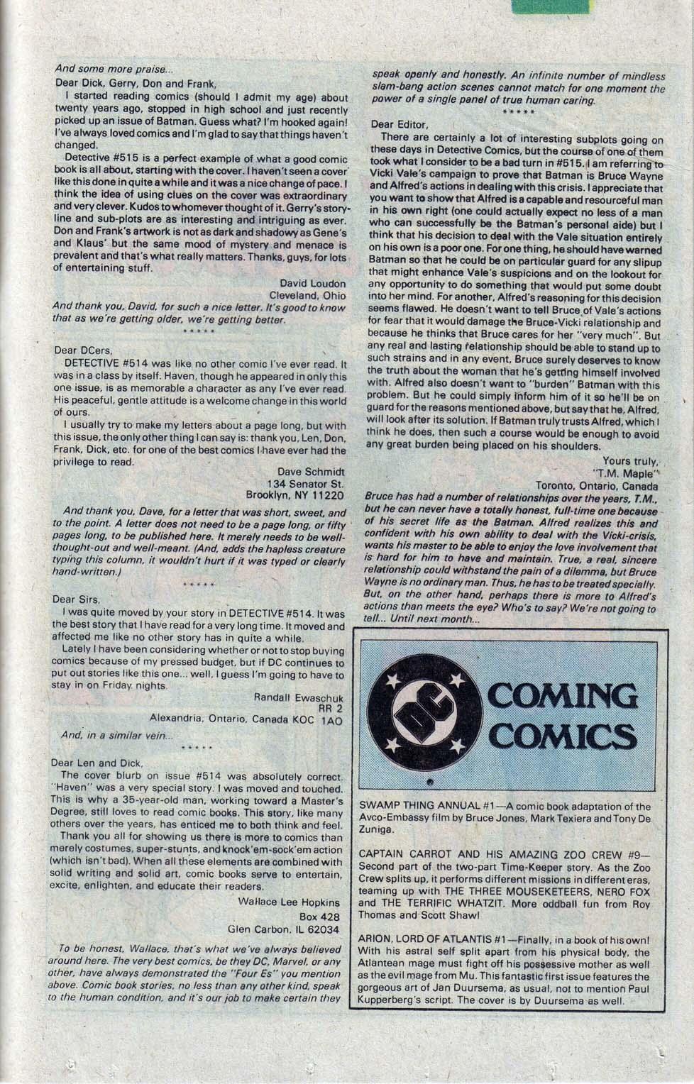 Detective Comics (1937) 520 Page 23