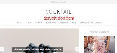 Template Terbaru 2017 CoockTail Template Blog Download Gratis