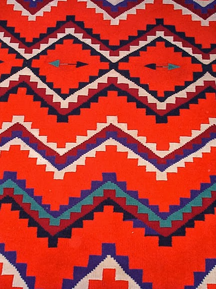The Connecting Culture Of Fashion Navajo Rug Pattern Vs