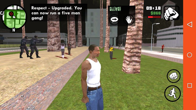 Zombie Mod for GTA SA Android v1.4 [BEST] mobile download