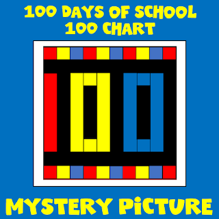 100 Day of School Mystery Picture