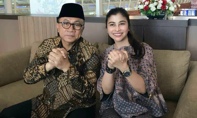 Ketum DPP PAN Salam Punggawa Bareng Thita, Sinyal Dukungan IYL-Cakka?
