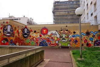 Sunday Street Art : dAcRuZ - rue Riquet - Paris 19