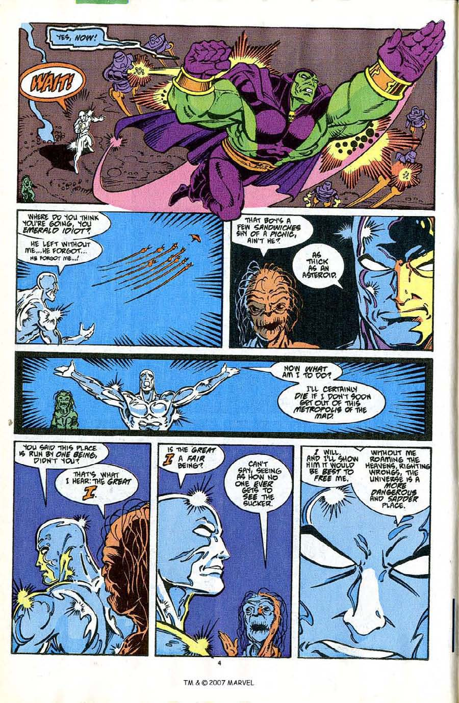 Read online Silver Surfer (1987) comic -  Issue #42 - 6