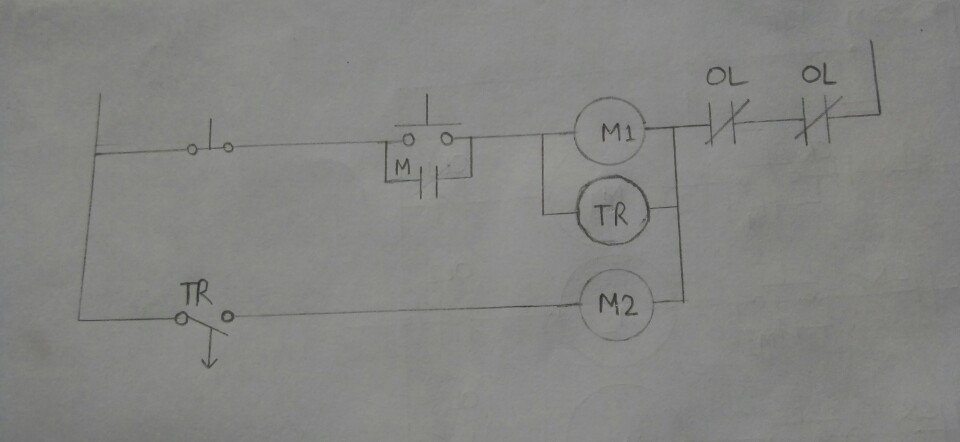 circuit diagram of simple off delay timer circuit