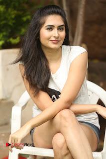 Actress Vyoma Nandi  Pictures in Shorts at Haritha Haram Event  0132.JPG