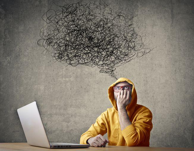 Como o cérebro trabalha para interromper um pensamento