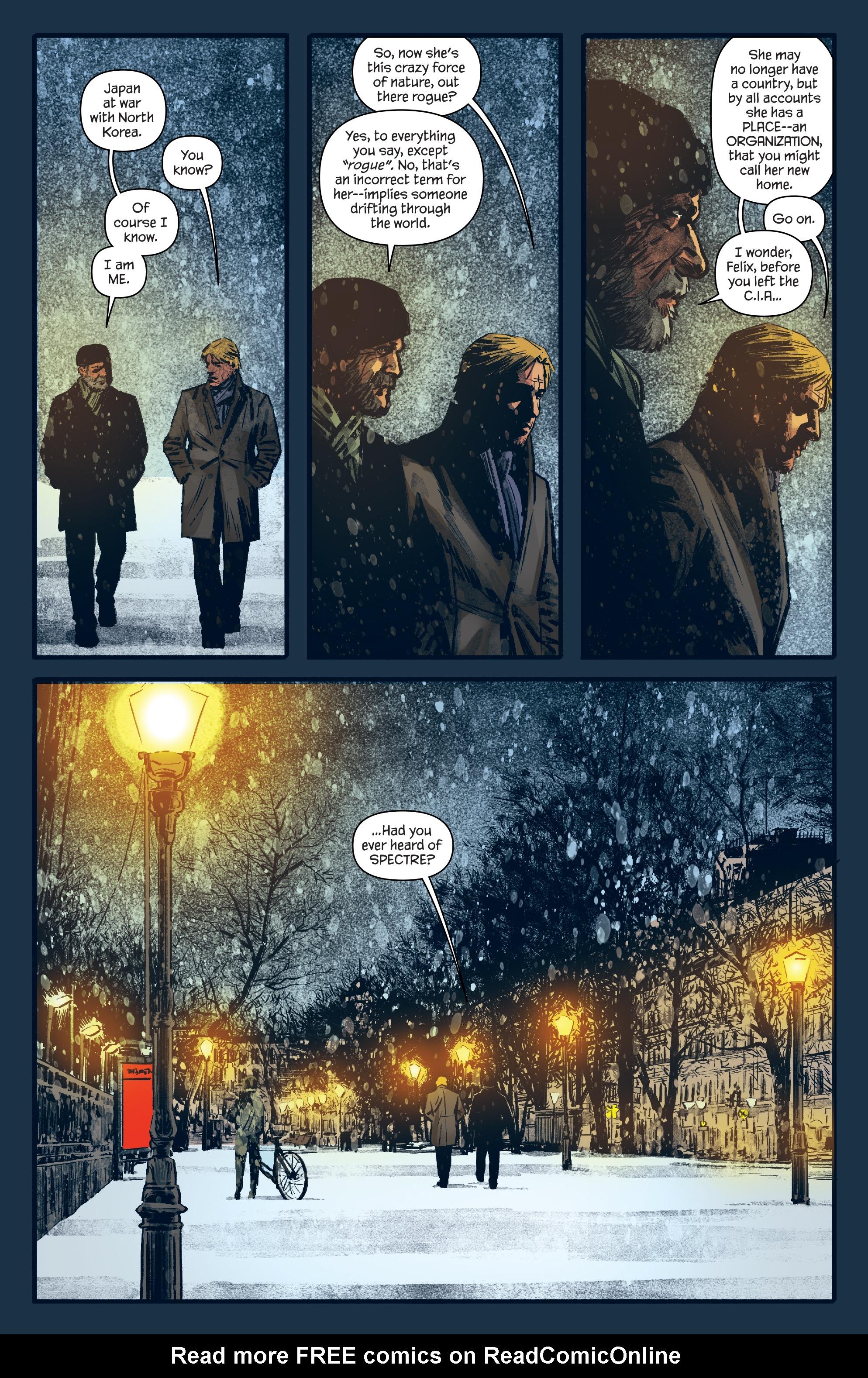 Read online James Bond: Felix Leiter comic -  Issue #6 - 21