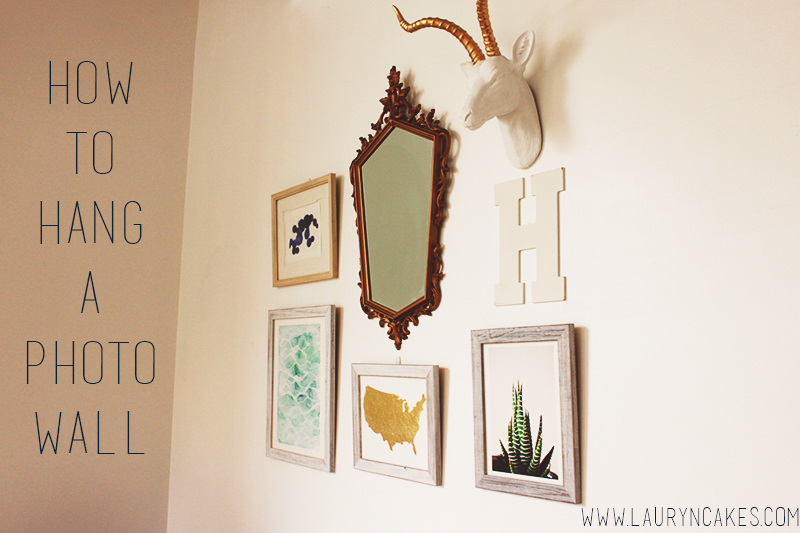 how to hang wall photos, hang prints, minted
