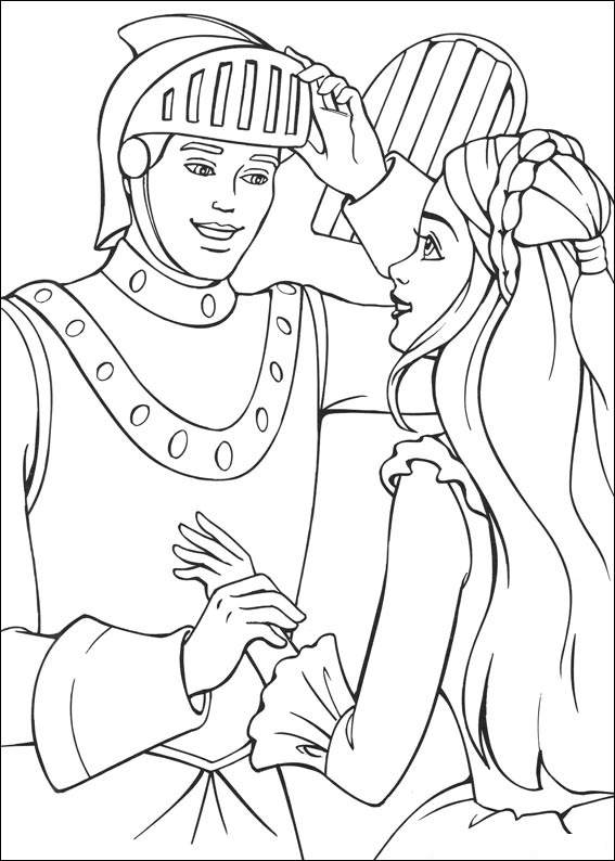 princess pauper coloring pages - photo#5