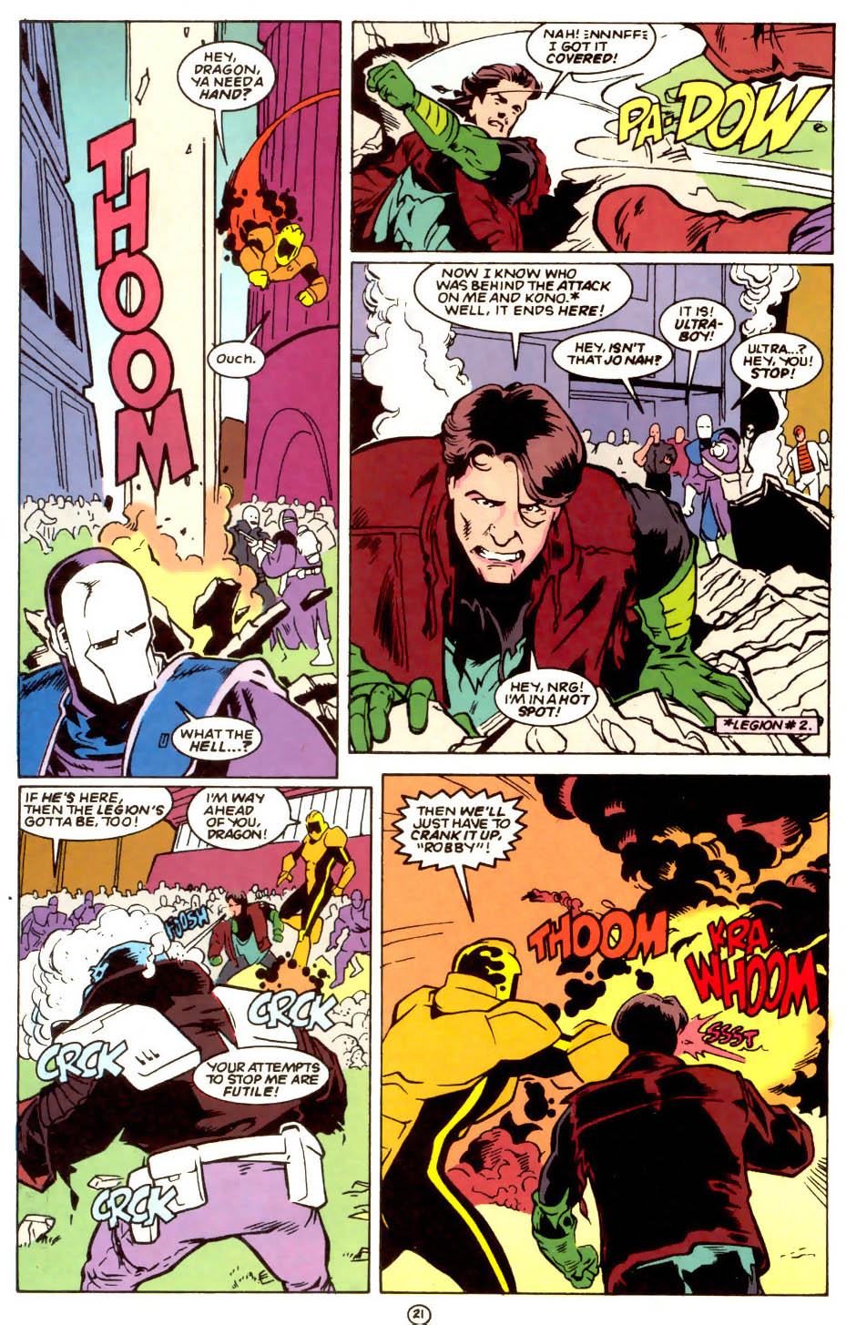 Legion of Super-Heroes (1989) 56 Page 21